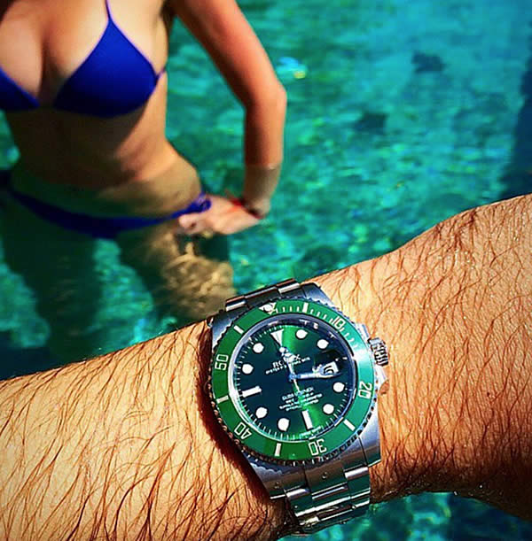 Green Dial Replica Submariner ETA