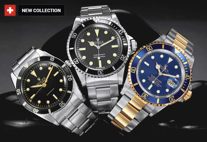 Rolex ETA Submariner Replica UK sale
